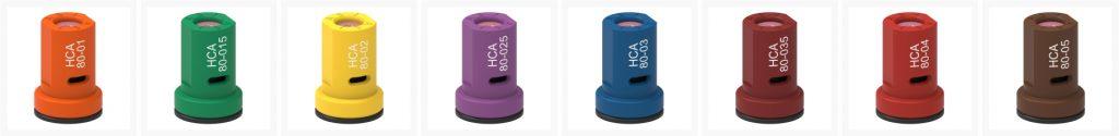 ASJ Nozzle - Ugelli a cono pieno antideriva HCA 80 certificati