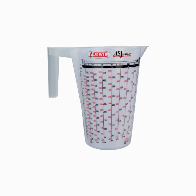 ASJ Nozzle - Jug for nozzles flow-rate measurement