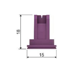Dimensione ugelli a ventaglio antideriva CFLD-XC