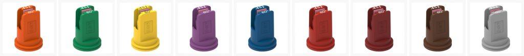 ASJ Nozzle - Fan low drift nozzles certifieds AFC 80
