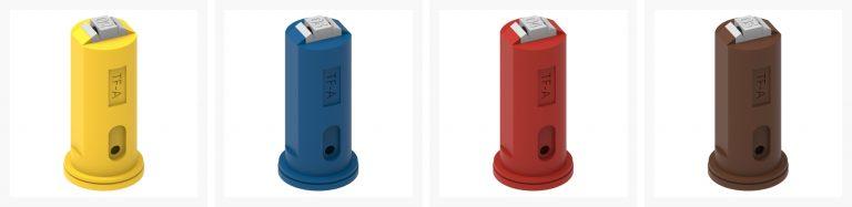 ASJ Nozzle - Twin nozzles certified TFA
