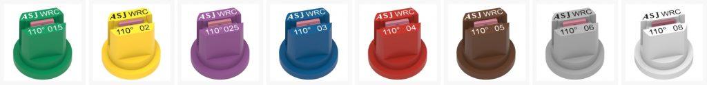 ASJ Nozzle - Fan nozzles certified WRC